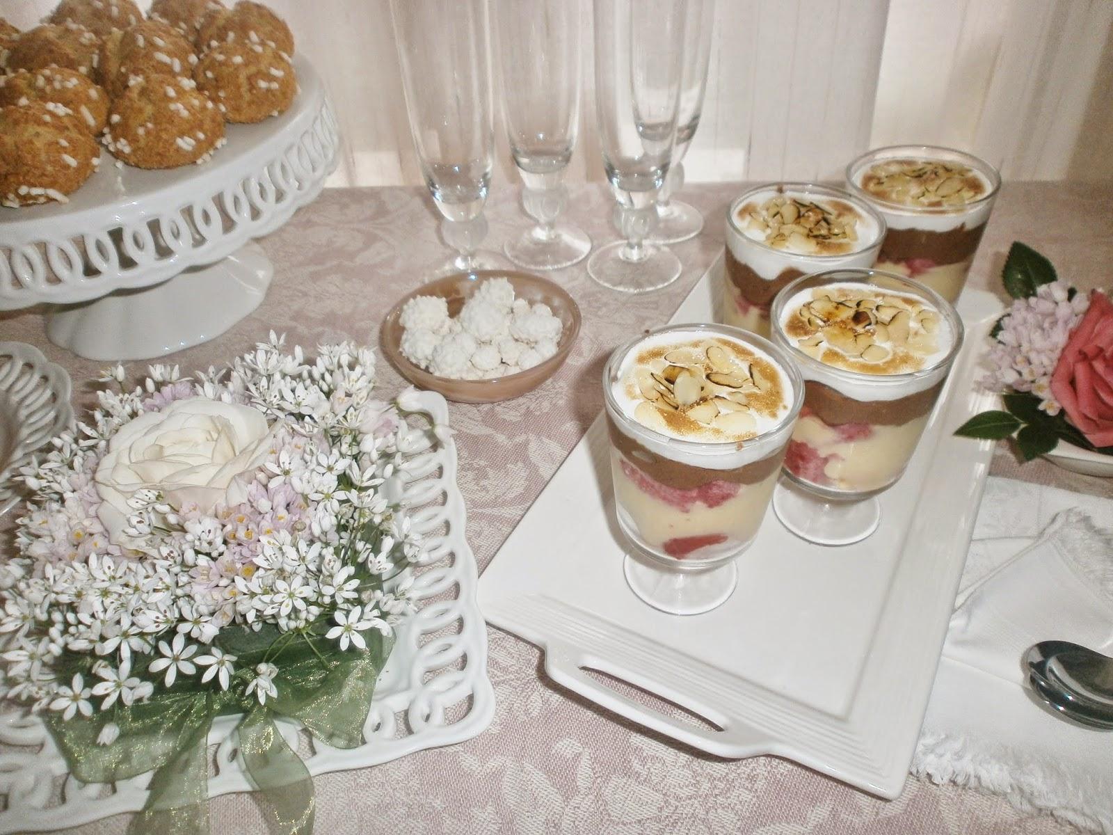 Matrimonio In Inglese : Matrimonio in rosa con zuppa inglese meringata sale e