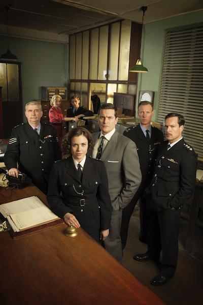 WPC 56, BBC1, Desk Sgt Peter Pratt (GERARD HORAN), Cathy Sinclair (JUSTINE MICHELLE CAIN), PC Eddie Coulson (CHRIS OVERTON), WPC Gina Dawson (JENNIE JACQUES), DI Jack Burns (KIERAN BEW), Sgt Sidney Fenton (CHARLIE DE'ATH), Chief Insp Nelson (JOHN LIGHT)