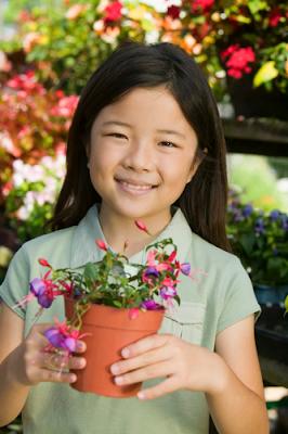 gardening, flowerpot, kids gardens