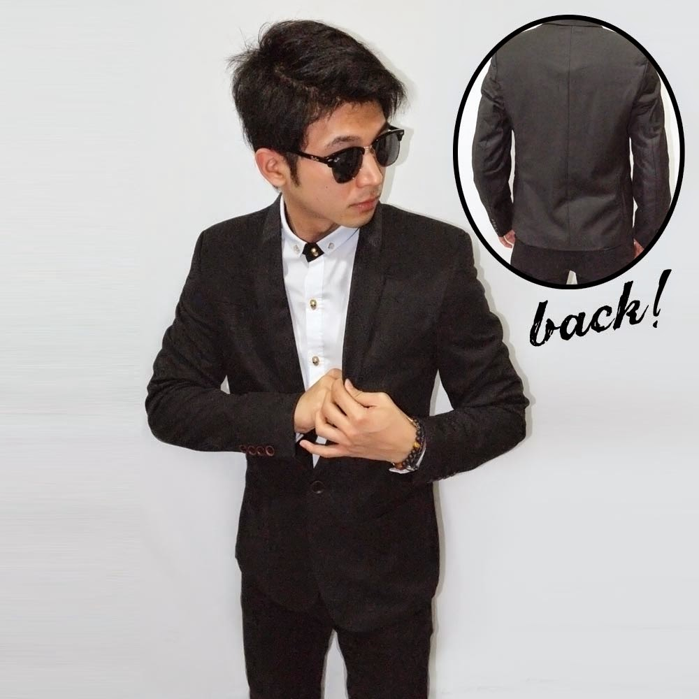 Blazer Formal Collar Polkadot