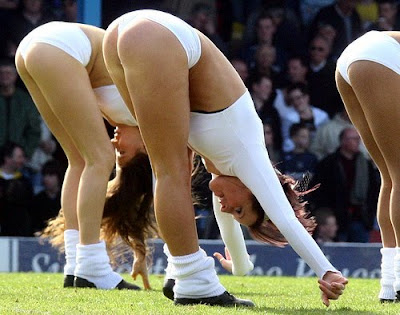Pretty cheerleaders most beautiful sportive girls