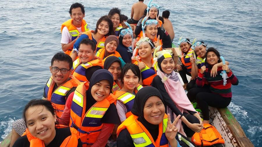 Berangkat snorkeling