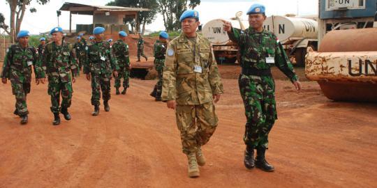 Tujuh Prajurit Tim Satgas Helly TNI Dikirim ke Misi PBB