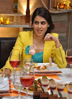 Genelia, latest, cute, photos, in, yellow, skirt