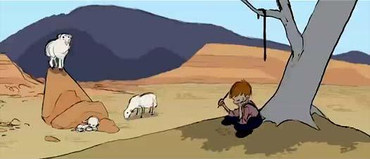 Curta de animação: Ninho da Águia, de David Wolter