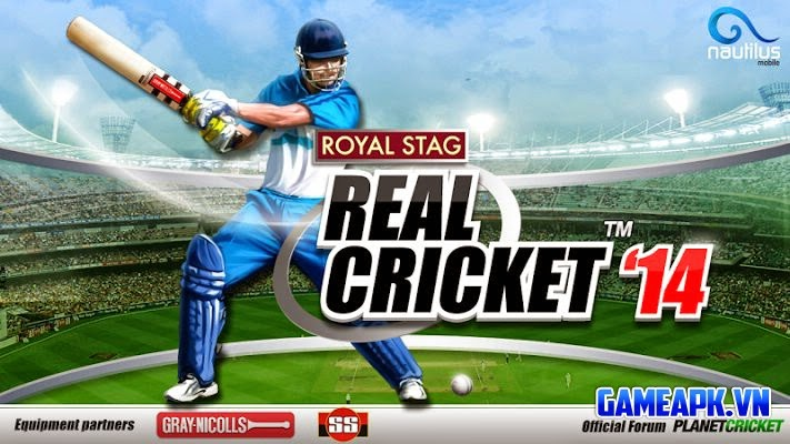Real Cricket ™ 14 v1.9 Mod (Unlimited Coins) cho Android