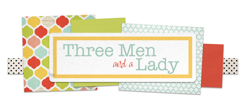 Three Men and a Lady