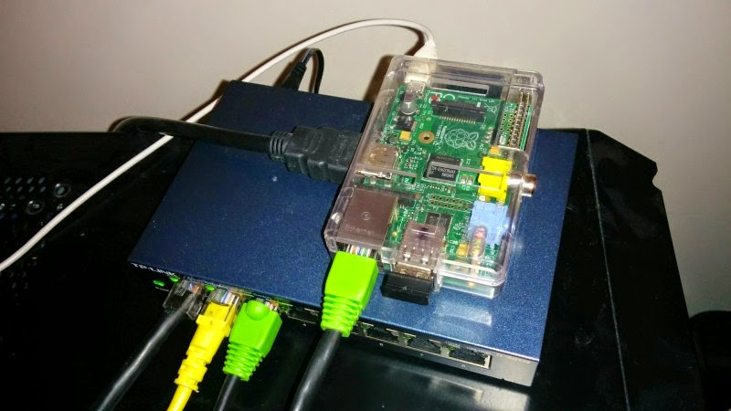 Raspberry pi 2 download server