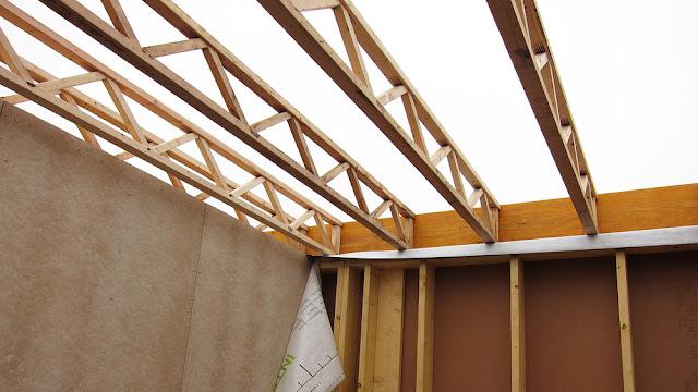 construire en bois au pays de la pierre bleue pose des. Black Bedroom Furniture Sets. Home Design Ideas