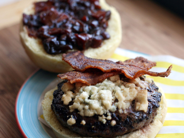 My Favorite Things: Smoked Bacon Blue Burger with ...