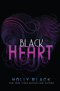 Book Cover for Black Heart by Holly Black, a YA paranormal novel