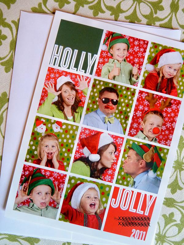 Sometimes Creative: Christmas Card 2011
