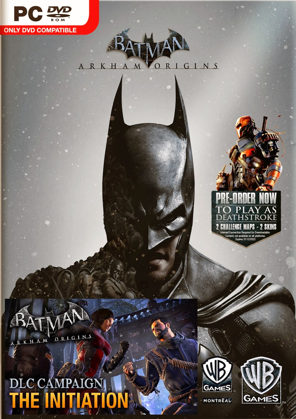 Dream Games: Batman Arkham Origins + Initiation DLC