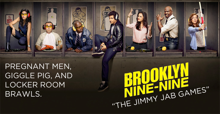 Brooklyn Nine-Nine - Episode 2.03 - The Jimmy Jab Games - Review