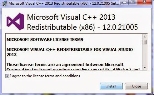 Cara Mengatasi Error MSVCP120.dll