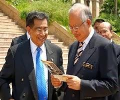 With Bapa Gagasan 1 Malaysia