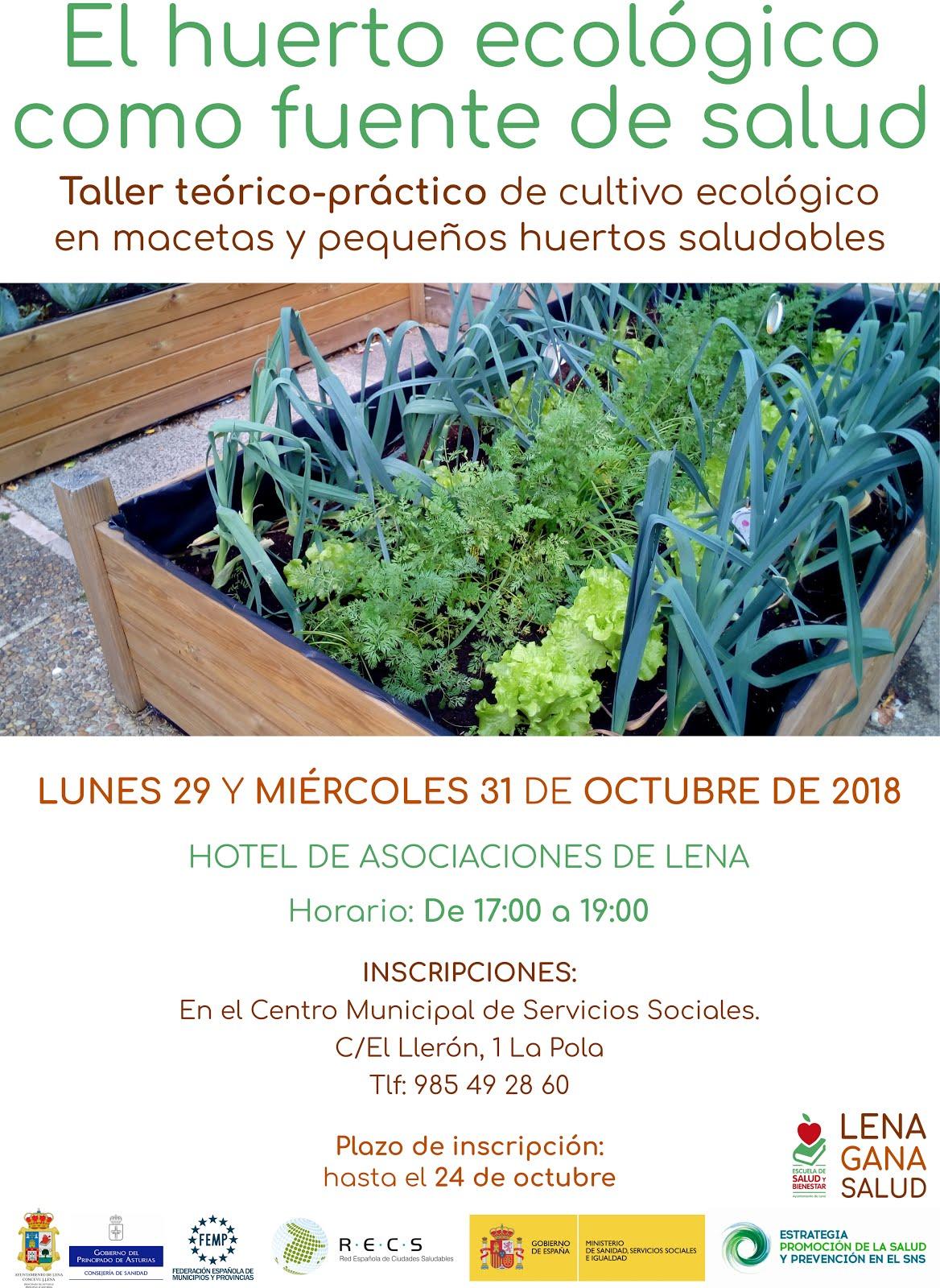 Taller de cultivo ecológico