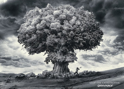 green peace nuclear bomb tree picture