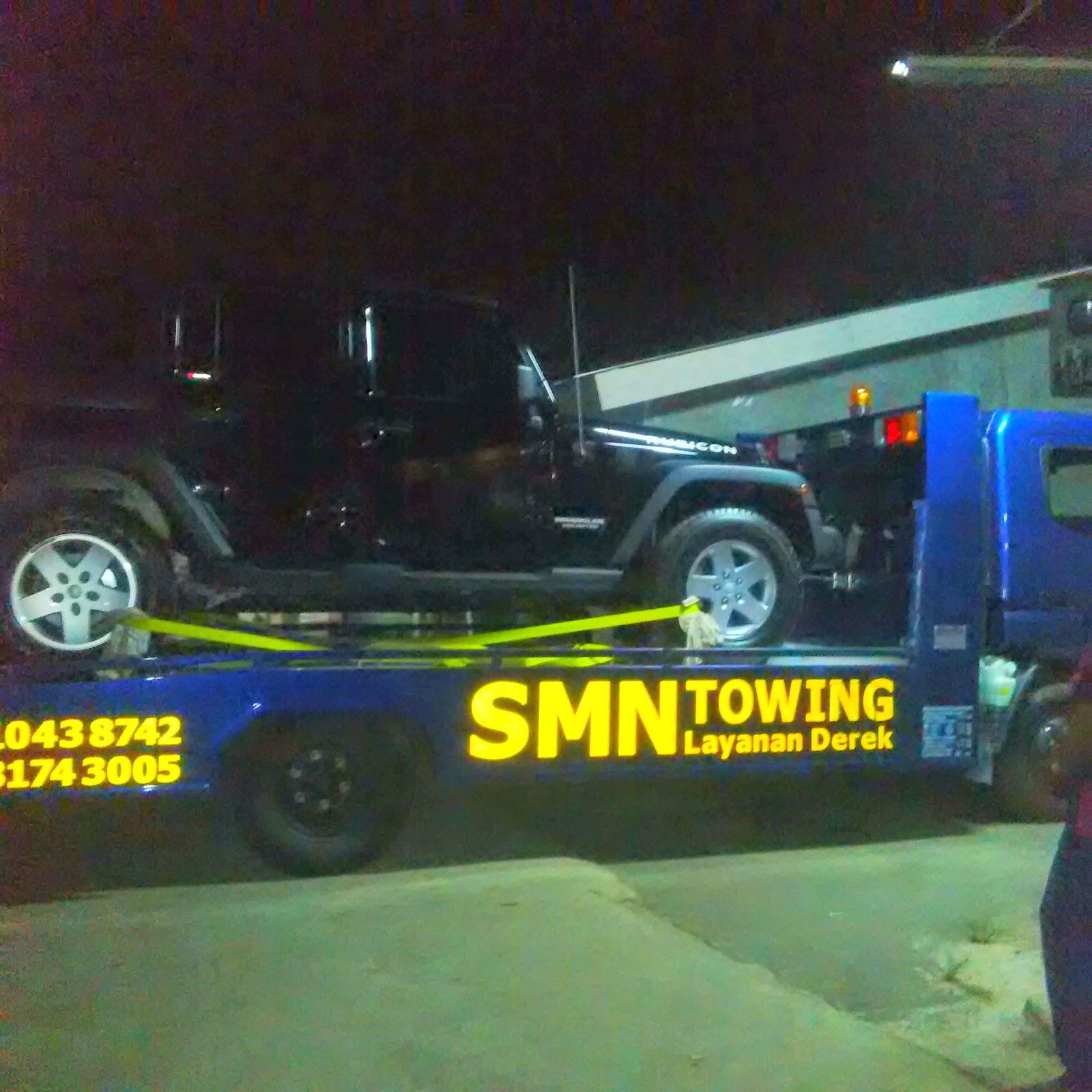 Pengiriman Jeep Rubicon Jakarta ke Kendal