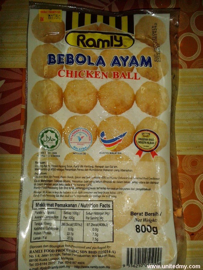 Ramly Chicken balls
