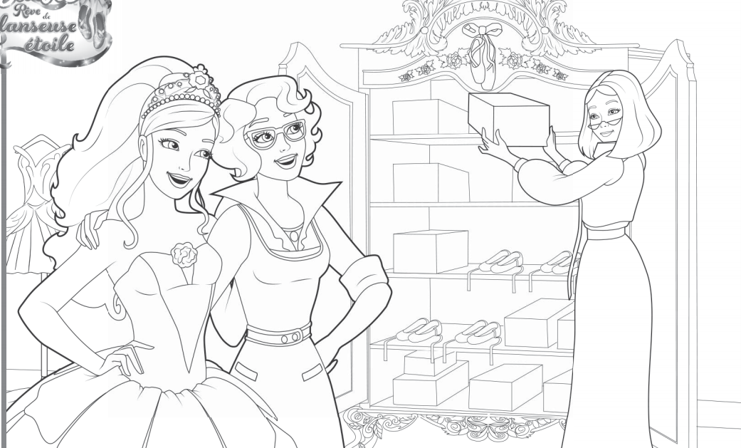 Free Coloring Pages Of And Dreamhouse In The Dreamhouse Coloring Pages