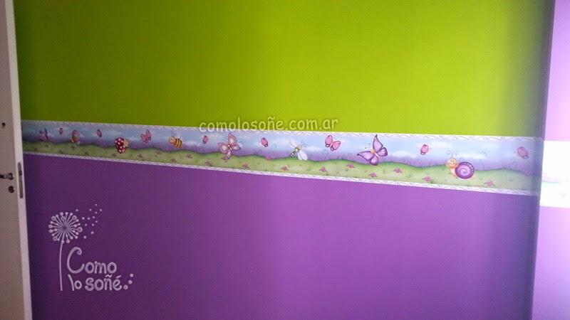 Karina cabrera dise os ideas para decorar cuartos infantiles for Disenos de paredes para dormitorios