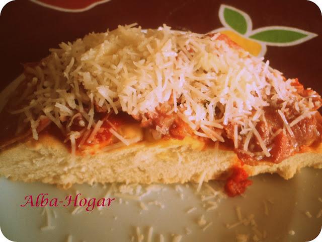 pan artesano con jamón y queso alba hogar