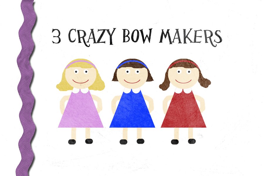 3 Crazy Bow Makers