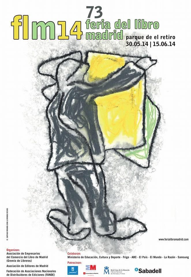 Cartel 73 Edición Feria del Libro Madrid 2014
