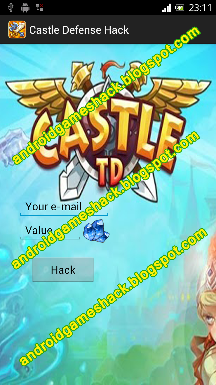 Castle Defense Android Apk Hack (Crystals)