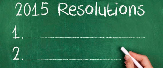 Top 10 New Years resolutions for 2015