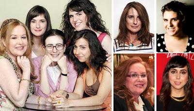 Carmen Ruiz, Inma Isla, Fedra Llorente y Berta de la Dehesa eran Chusa, Elena, Marga y Jimena