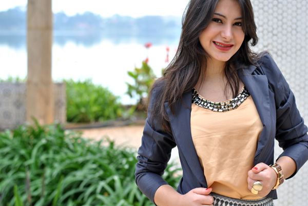 Bárbara Urias - look do dia - No Preach - pampulha - belo horizonte