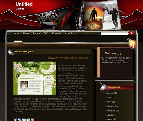 Untitled Blogger Theme