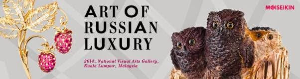 Visit the 'The Art of Russian Luxury by Moiseikin' Exhibition Next Week