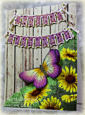 Stamps - Our Daily Bread Designs Pennant Swag 2, Butterfly Corner, ODBD Rustic Beauty Paper Collection, ODBD Custom Pennant Swag Die