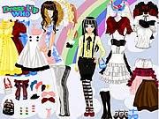 trò chơi thời trang lolita