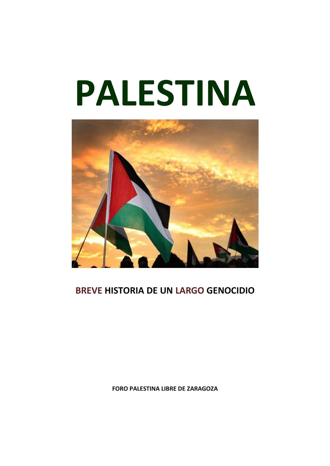 Libro realizado por el Foro Palestina Libre de Zaragoza