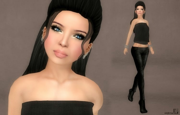 Second Life review on virtual designer, Tameless, latest fashion designs.