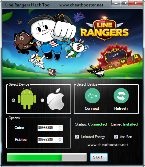 Line Rangers Cheat