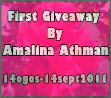 """ First Giveaway by Amalina Athman""(14sep)"
