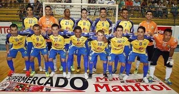 9ee71a16a1 A equipe do Cresol Marreco Futsal bateu o time do Concrevalle Dois Vizinhos  Futsal por 3x1 em amistoso disputado nesta quinta feira (dia 27) no ginásio  ...