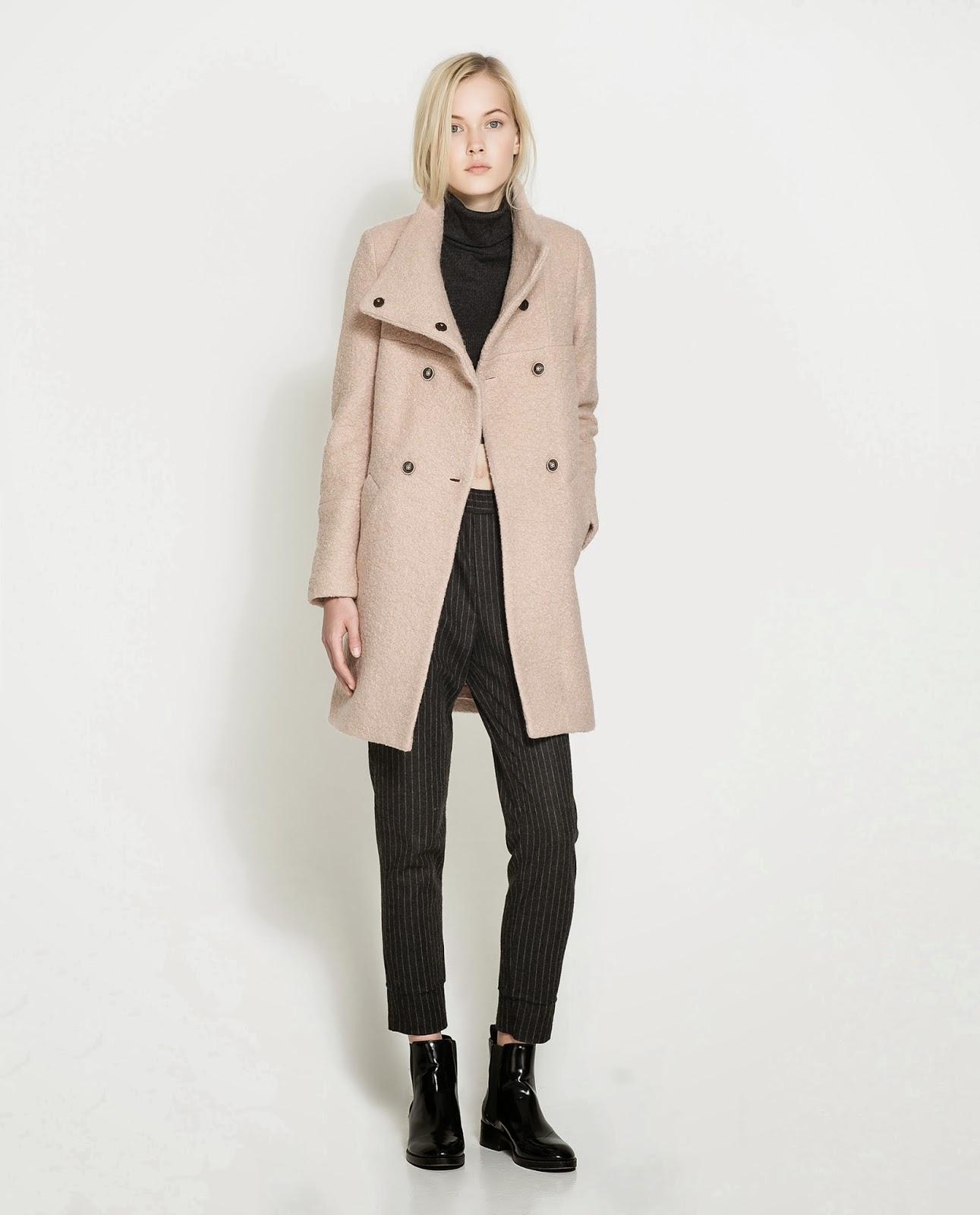 dress zara fall winter 2014 coats models. Black Bedroom Furniture Sets. Home Design Ideas