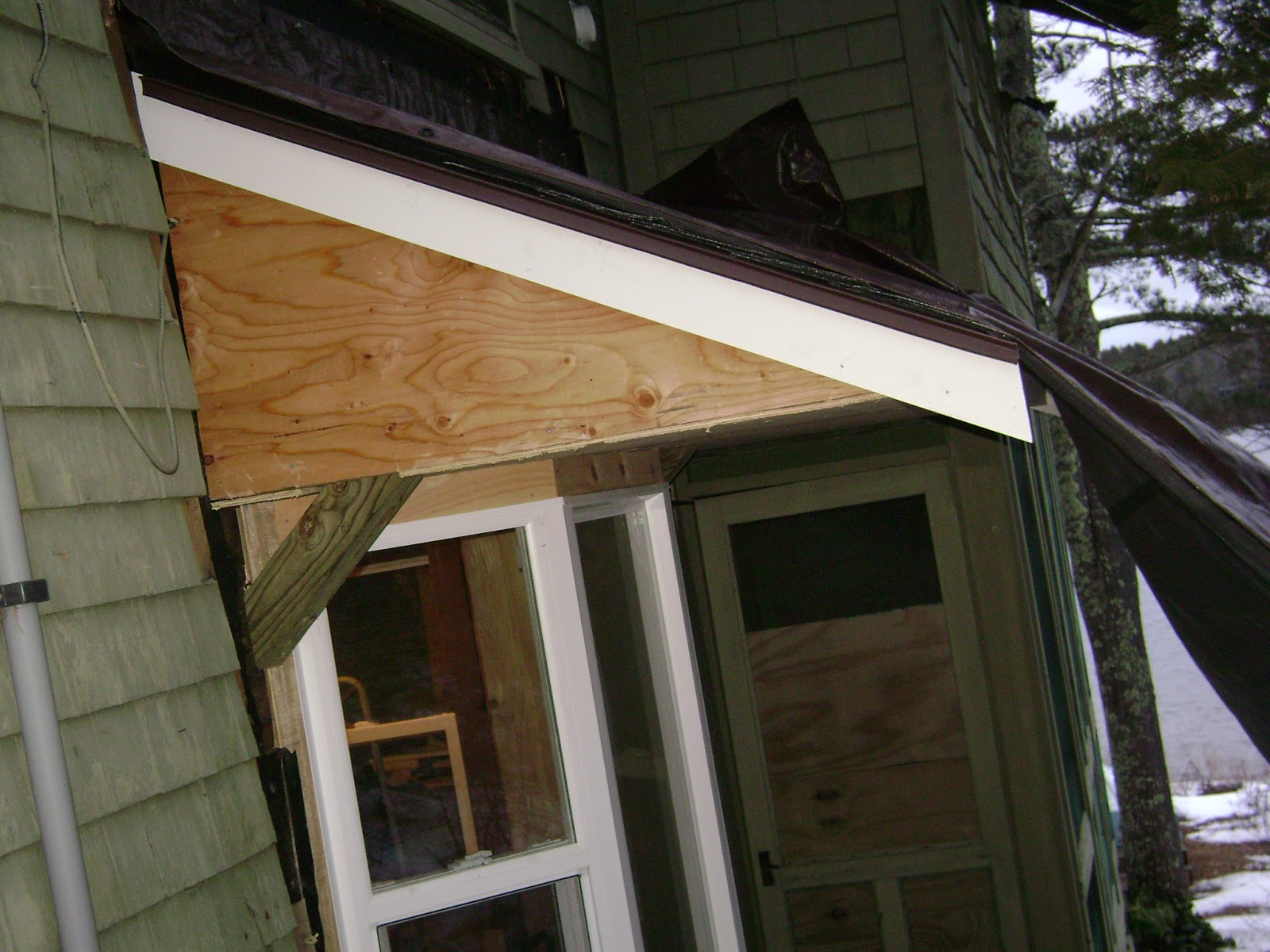 Long Pond Endeavor Company: Bay Window with New Shed Roof Build