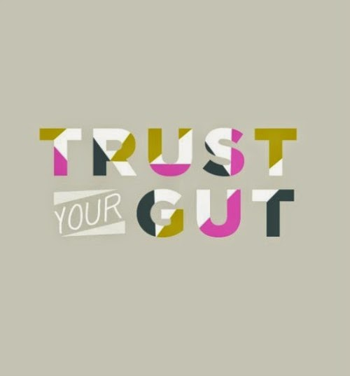 trust your gut quote