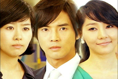 Yvonne, Albert and Cheska in Two Wives