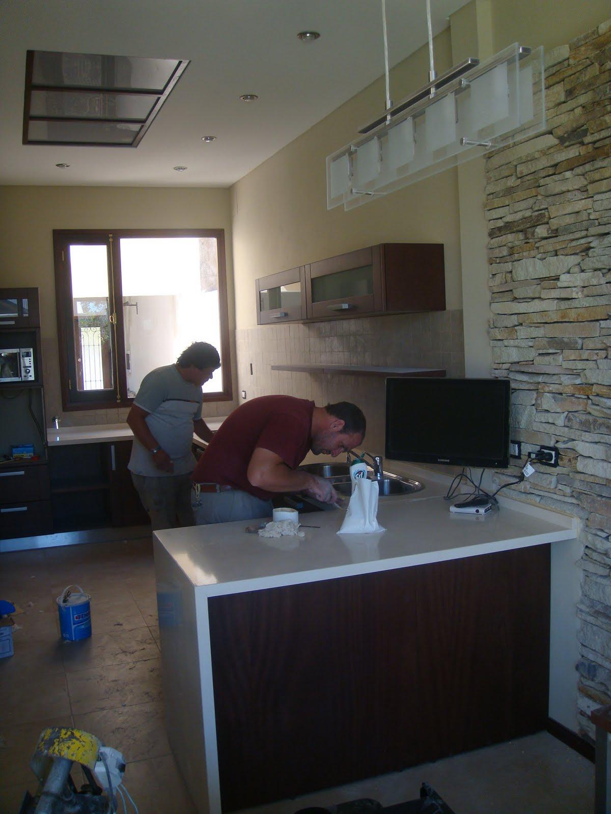 Arquitectura dise o cocina comedor espacio integrado - Cocina comedor integrados ...