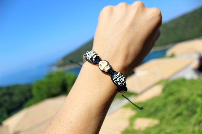Glam Chameleon Jewelry bracelet. handmade jewelry.