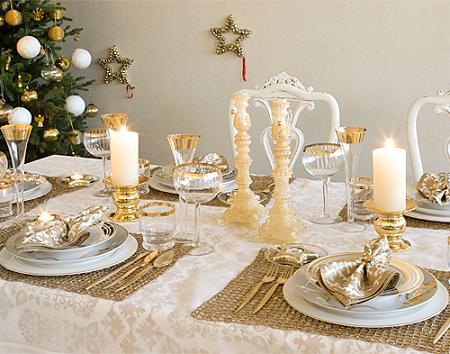 Ideias para Decoração das Mesas de Natal