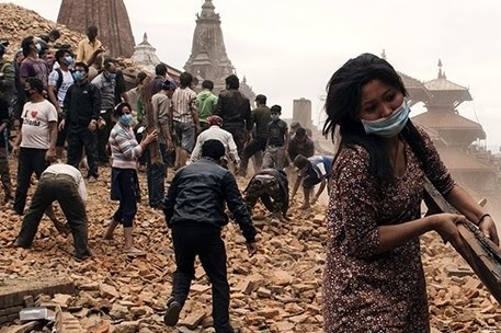 Help the crisis in Nepal by giving to the Red Cross